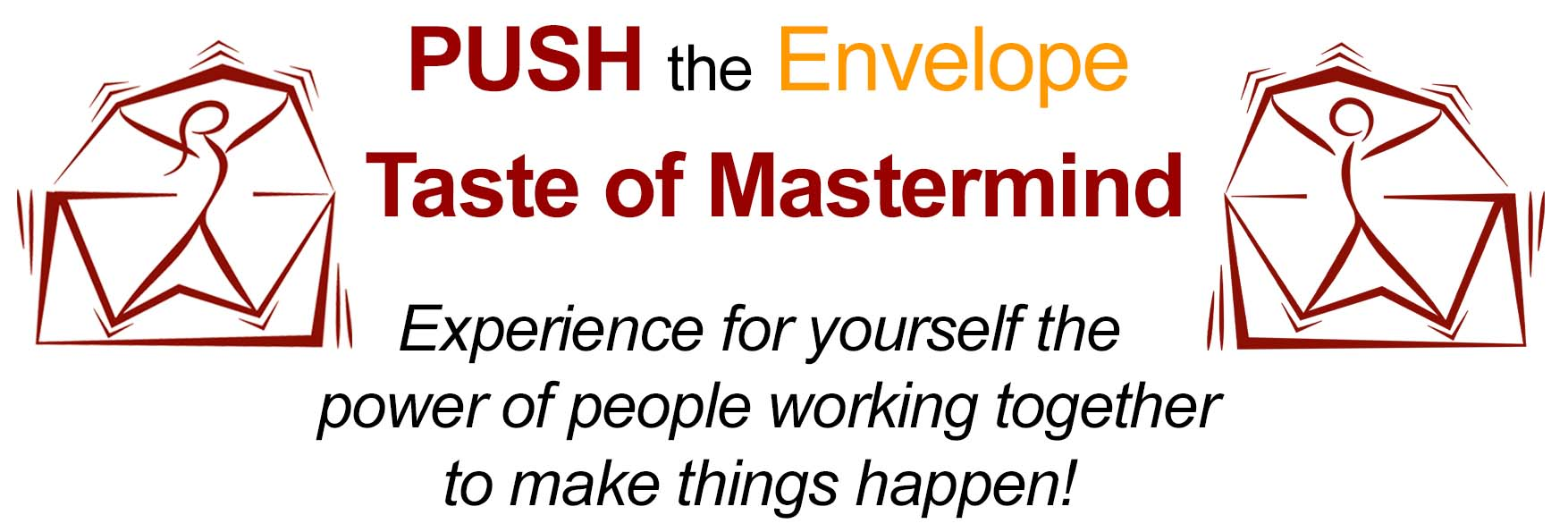 PUSH the Envelope Taste of Masterminds with Laura Hess and Philip Cohen | So You Can Experience the Real Thing