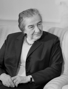 Golda Meir Held high-level meetings in her kitchen, serving cake and coffee.